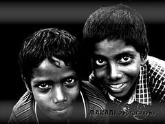 Brothers (Makani_Photography) Tags: bw india white black boys children photography photo brothers timeless makani makaniphotography