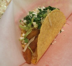 Fried fish taco