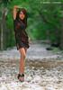Deeya (DanielKHC) Tags: flowers trees light red portrait woman white black sexy green beautiful look fashion forest carpet 1 interestingness high model glamour eyes alley nikon dof dress legs bokeh explore heels mauritius elegance d300 ilemaurice danielkhc nikkor70200mmf28vrii deeyabeerjafan