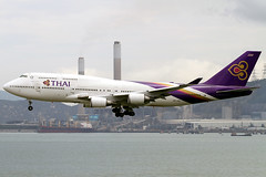Boeing | 747-4D7 | Thai Airways International | HS-TGZ | Hong Kong | HKG | VHHH (Christian Junker | PHOTOGRAPHY) Tags: china plane canon hongkong eos airport asia aviation landing airline thai landinggear 7d boeing hkg 100400mm sar jumbo tha tg b747 thaiairways planespotting cheklapkok staralliance b747400 b744 vhhh 25r b7474d7 hstgz motleypixel phimara