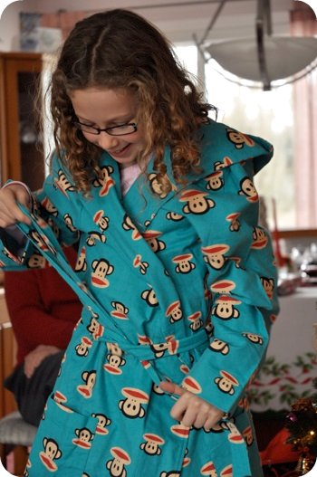 new robe!