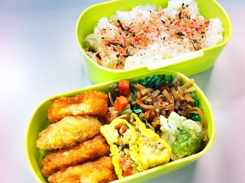 今日のお弁当 No.81 – 鮭