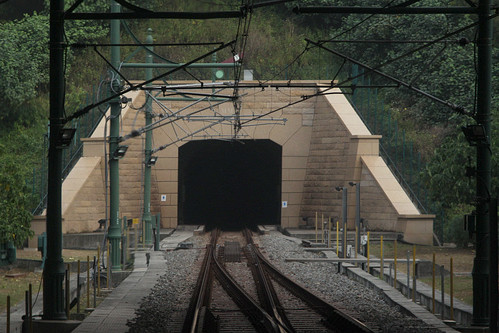 South portal of Tai Yam Teng tunnel