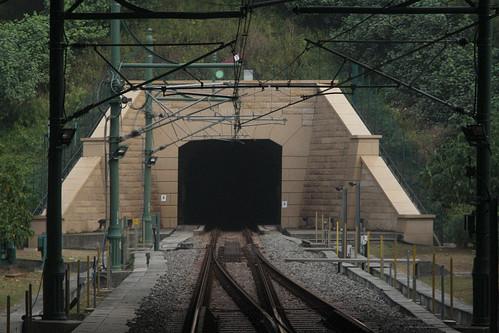South portal of Tai Yam Teng tunnel