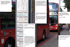 Elephant & Castle : Bus Stop (DimitraTzanos) Tags: bus london perception map perspective busstop route olympics mapping schedule southwark timetable kevinlynch opinions node 2012 regeneration 188 redevelopment experiences elephantcastle