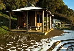 Hut on the Jubilee (Alastair Cummins) Tags: snow beer village hut devon shelter