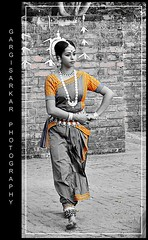 Beautiful Dancer. (Rimi's Magik!) Tags: travel india tourism nature birds lady dance nikon culture chennai incredible orissa tamilnadu odissi indiandance dakshinachitra d90 naturechennai