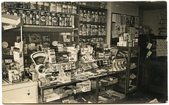 sweet shop heaven (unexpectedtales) Tags: old white black strange vintage wonderful found weird photo shot antique snapshot surreal snap photograph vernacular unusual enigmatic peculiar peculier unexpectedtales vernaculat