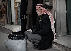 old man - old city (aiman4ik) Tags: old people man black home reading book town sad homeless poor amman down east jordan middle less albalad emotinal