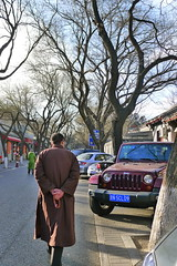 street (dave tong) Tags: china winter tree jeep buddhist beijingstreet davetong