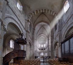 Vezelay (xsalto) Tags: church roman gothique eglise panoramique ogive