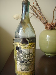 Old bottle of Quinta de Santo Ant�nio Port Wine