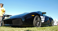 2008 Lamborghini Gallardo Superleggera (Chad Horwedel) Tags: black car illinois exotic import lamborghini gallardo sportscar lambo bolingbrook superleggera summerslastblast 2008lamborghinigallardosuperleggera lamborghinigallardosuperleggera