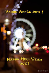 Bonne anne 2011 !   Happy New Year 2011! (neoweb001   www.julientordjman.fr) Tags: new paris wheel canon bokeh year newyear concorde bp bonne 2010 roue balade anne parisienne 2011 bonneanne 450d baladeparisienne julientordjman baladesparisiennes
