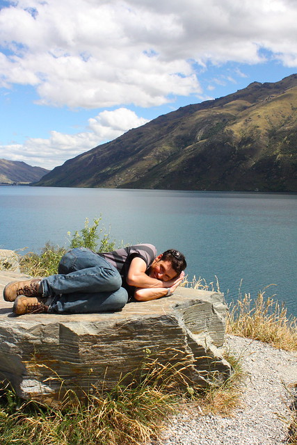 lake hawea, another nap?!