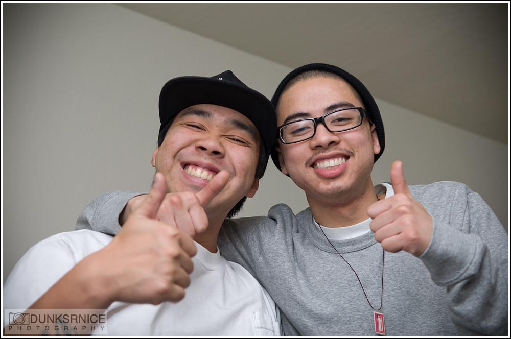 Chris & I.