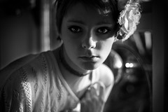 (j ) Tags: new light portrait white black window self year