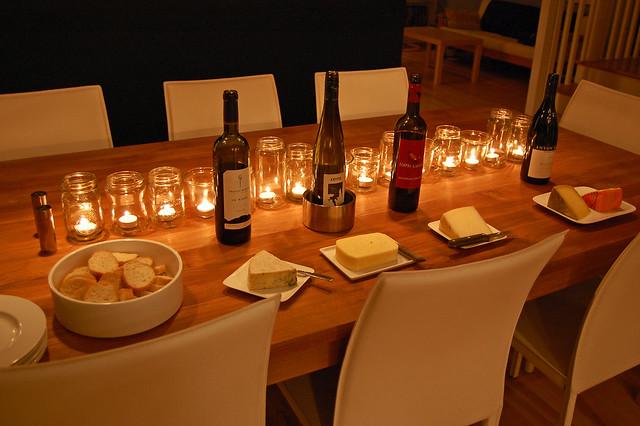 new year's eve wine & cheese