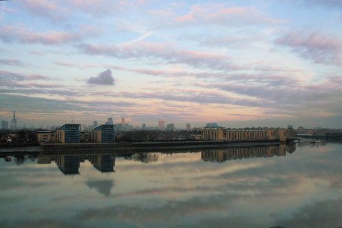 Reflections in the Thames - 4