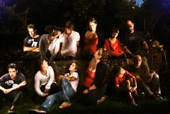 En el jardín (Germán Gutiérrez) Tags: noche italia jardin fantasma miedo doble clon muggia