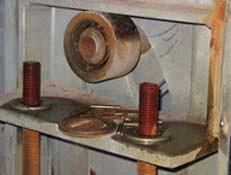 Roller Bearing Needing Maintenance
