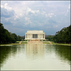 USA - Washington D.C. - Lincoln Memorial (Lo Scorpione) Tags: usa monument america square washingtondc dc washington memorial raw unitedstates quote lincoln nationalmall lincolnmemorial abe verticalpanorama reflectionpool vertorama andromeda50 mygearandmeplatinum mygearandmediamond