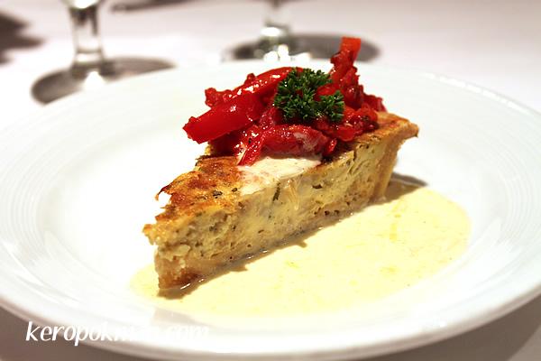 Vidalia Onion Tart (Vegetarian)