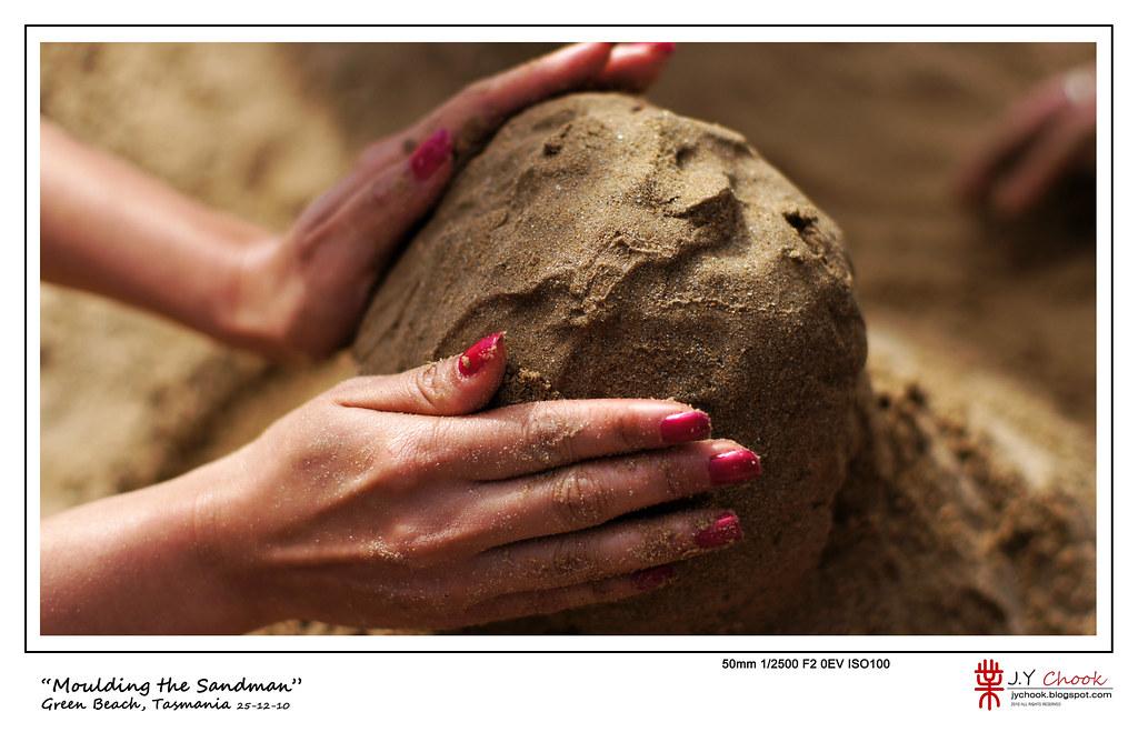 moulding the sandman