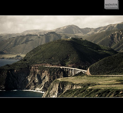 As good as it gets (Madiator) Tags: ocean bridge house creek big bigsur palace hills pch sur bixby bixbybridge pacificcoasthighway bixbycreek bixbycreekbridge asgoodasitgets cinematiclandscape unreallandscape