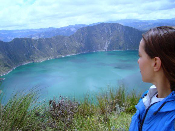 Quilatoa Crater, Ecuador