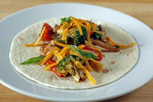 teriyaki chicken taco