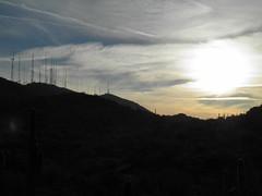 south mt towers (adamcmarshall) Tags: sunset arizona cactus mountains adam phoenix beautiful beauty digital sunrise photography climb photo scenery butte desert image photos south north picture az pic run images lookout hike marshall photograph shaw camelback squaw phx piestewa adammarshall