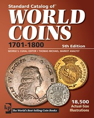 Standard Catalog of World Coins 1701-1800 5th ed