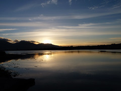 The Mournes from Murlough bridge (ronmcbride66) Tags: sunset reflection nationaltrust dundrum mournes codown murlough coth fantasticnature keelpoint absolutelystunningscapes