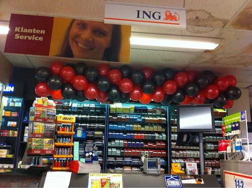 Ballonslinger Plus Supermarkt Klaaswaal