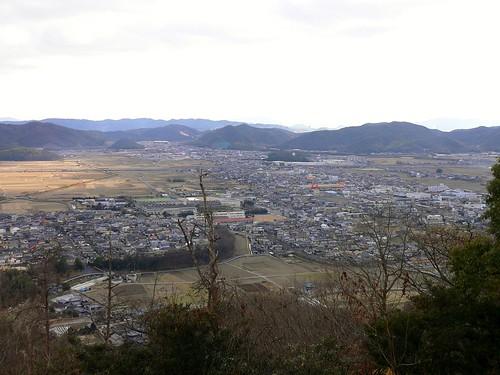 鉄砲山からの眺め