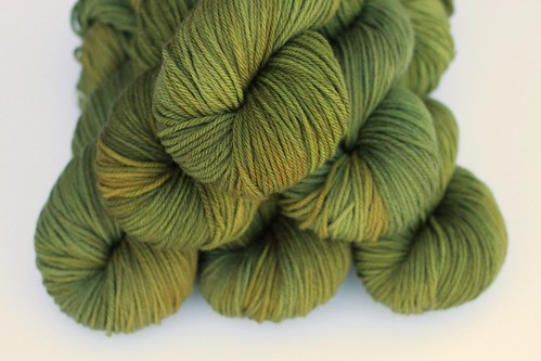 Almighty Avocado - Merino SW Worsted