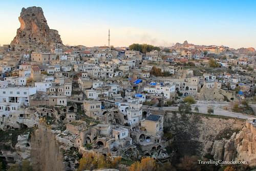 Ortahisar Castle - Cappadocia, Turkey