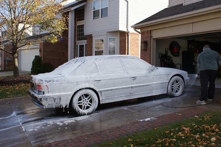 wash foam