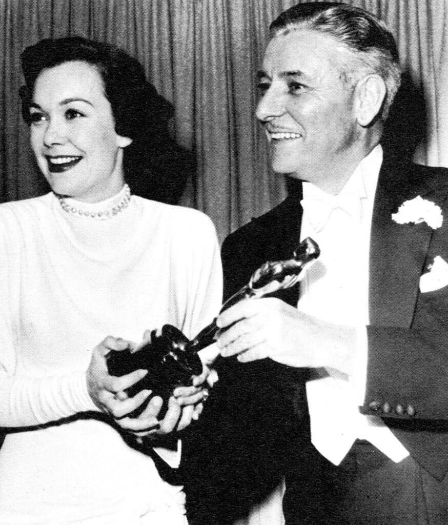 Jane Wyman and Ronald Colman