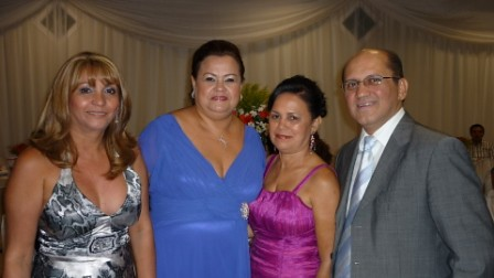 -Francimary Leão, Walda Martins, Rozilda Silva e Carlos Martins