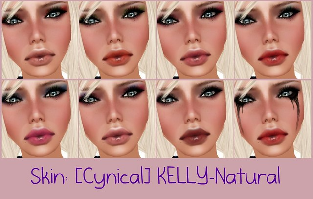 Skin: [Cynical]KELLY-Natural