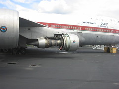 "Boeing 747 Prototype ""The City of Everett"" #4 & #3 P&W engine, bypass duct removed 741 747-100 (wbaiv) Tags: seattle hot museum plane airplane flying aircraft flight machine boeing heavy section 747 jumbo intake proto pw doubledeck twinaisle 4engine fourengine"