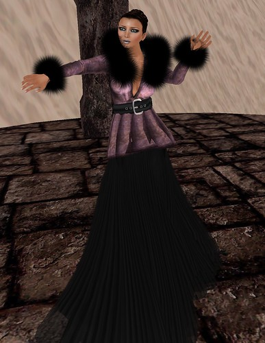 55L Thursday January 13 2011 PurpleMoon Creations Norah in Purple