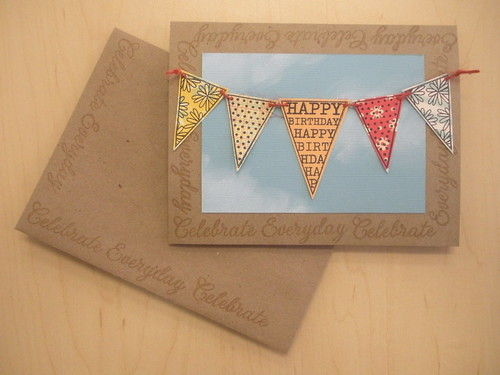 Celebrate Banner Card & Envelope
