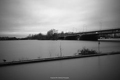 Hoogwater | Serie (Dedication-Photography) Tags: winter white black cold water river nikon europe exposure flood nederland d40 nd110
