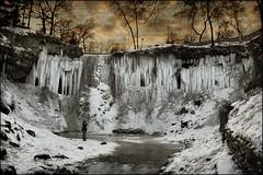frozen minnehaha water falls minnesota (Dan Anderson.) Tags: winter cold ice water minnesota creek frozen minneapolis falls waterfalls twincities mn minnehaha minnehahafalls songofhiawatha