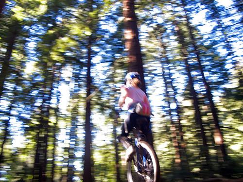 Ashley on Big Trees