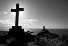 Llanddwyn - Cross and Lighthouse