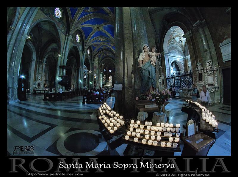 Roma - Santa María Sopra Minerva - Virgen